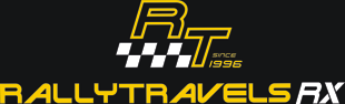 Rallytravels - Your 1st choice for travel arrangements to the WRC logo